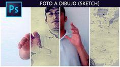 Convierte una foto a dibujo (Sketch) otra forma con photoshop by @photos...