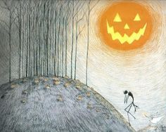 Tim Burton's ArtWork   nUvegante