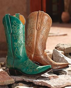 It is literally impossible for a girl to have too many pairs of boots, especially cowboy boots.