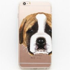 Crystal Clear Cover Case for iPhone 6/6S - 25 Designs