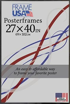 Black 27x 40 Poster Frame w/Plexi-Glass and Hardboard Backing Frame USA http://www.amazon.com/dp/B00PSP92M4/ref=cm_sw_r_pi_dp_Hjazvb0G8N5CY