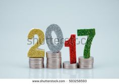 business finance. save money for investment concept 2017 and money