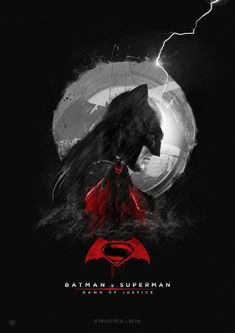 #BatmanvSuperman #WhoWillWin #Batman BATMAN v SUPERMAN alternative poster design. My submission for Talenthouse creative invite.
