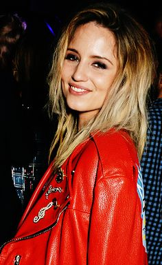 Dianna Agron attends the Marc Jacobs Beauty dinner at the Club at Park Chinois in London, England on February 20, 2016.