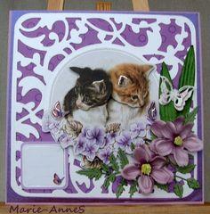 Tonic dies,  Cats, Anita's 3D, Marie-AnneS facebook.com/PysseloPynt