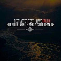 #test #trail #fail #faith #hope #muslim #islam