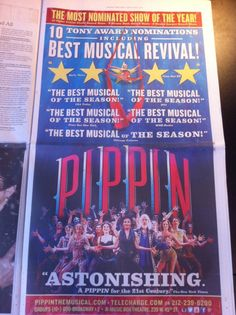 PIPPIN revival; wonderful!!!