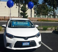 Great display cars keep on rollin' in...this time, a 2014 #Toyota #Corolla at the Downey, CA branch of Financial Partners Credit Union!
