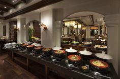 Mira Terrace, the art of fusion and international cuisine. Daily international breakfast buffet with live cooking station, all-day dining and a la carte.
