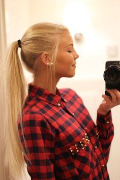 ♡ ponytail