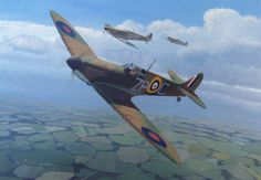 Perpetual Beauty  Spitfire Mk Ia flown by Pilot Officer John Connell Freeborn of No 74 Sqn RAF in August 1940.
