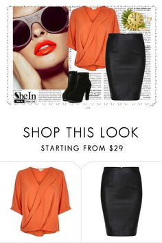 """""""SheIn..skirt..contest!"""" by dandelion55 ❤ liked on Polyvore featuring moda, River Island, women's clothing, women's fashion, women, female, woman, misses, juniors e shein"""