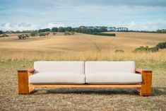 timber leg couch