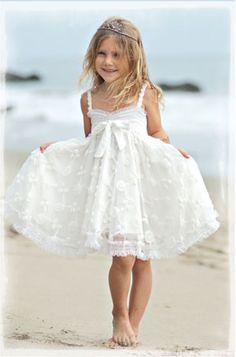 White little summer dress for my little one