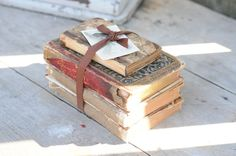 I love old books and want to use them