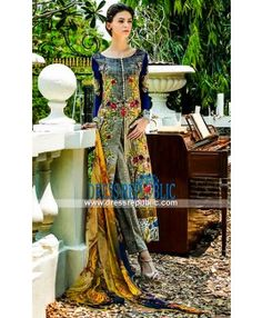 Tabassum Mughal Lawn Collection 2015 Spring by Al Zohaib