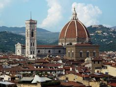florence   in Florence, the dominant skyline shape is the dome of Florence ...
