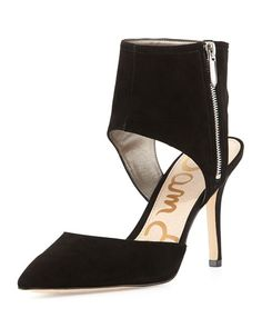 aa9bc9a70 Sadia Suede Ankle Pump Suede Pumps