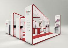 Stand Depuy 2011 on Behance Exhibition Stand Design, Trade Show Booth Design, Exhibition Stall, Exhibition Display, Display Design, Set Design, Exibition Design, Stand Feria, Expo Stand