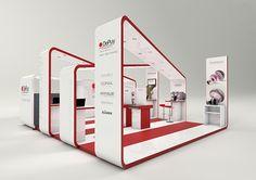 Presença da marca para mostra de novos produtos num congresso para médicos, 2011