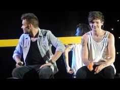 OTRA Baltimore August 8th: Liam and Louis talking and playing with water guns - YouTube