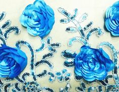 3D colored rose stereoscopic flower sequin Wedding Clothing 59.06 Width 1 Yard(FLK006)  Width: about 150cm /59.06 inches Quantity: 1 yard Usage: Crafting; Holiday; Apparel & Fashion; Wedding,DIY , wedding background     Note: 1. Color representation may vary by monitor. Not responsible for typographical or pictorial errors. 2. The listing price is for one yard. If you buy more than one yard, just select the Qty as you wish.