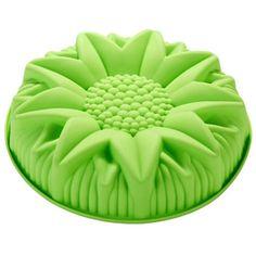 Dort DIY pečivo formy docela velký velkoobchodní silikonová forma bábovka slunečnice dezert E067