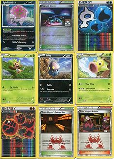 Pokemon 13 Card Lot with Holos and Spiritomb LV. 39