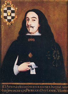Antonio Sebastián Álvarez de Toledo Molina y Salazar, 2nd Marquis of Mancera, Grandee of Spain (c. 1608 – Madrid,1715) was a Spanish nobleman and diplomat who served as Viceroy of New Spain from October 15, 1664 to December 8, 1673.