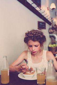 her hair!: