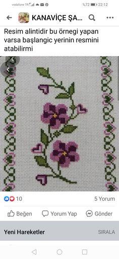 Border Design, Cross Stitch, Herb, Cross Stitch Embroidery, Dots, Punto De Cruz, Seed Stitch, Cross Stitches, Crossstitch