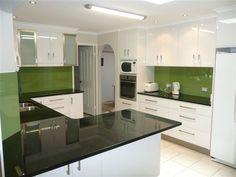 Glass Splashback - Bring your kitchen alive!