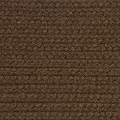 Colonial Braided Rug Co - Solid Light Brown Braided Rug, $59.70 (http://www.colonialrug.com/solid-light-brown-braided-rug/)