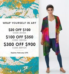 HUGE Sale! Come shop all of my designs and get these great discounts. Enjoy $20 off $100+ (with code 20VIDA) or Enjoy $100 off $350+ (with code 100VIDA) Or Enjoy $300 off $900+ (with code 300VIDA) https://shopvida.com/collections/lloydgoldstein2003