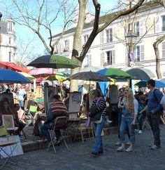 Place du Tertre Paris