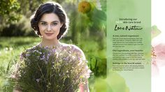 Love Nature – a new skin care brand by Oriflame on Behance