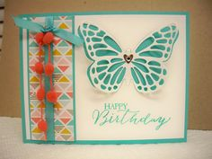 Such a beautiful, fun and easy card to make.  HUGE TIP when using intricate thinlits with your Big Shot.  For EASY removal of your die cut image, build your cutting sandwich like this:  Magnetic Platform or Standard Platform Cutting Pad Dryer Sheet ($1.00 store, unscented) Card Stock Wax Paper Die Cutting Pad  Watch an awesome video about using the dryer sheet by Patty Bennett, here:  https://www.youtube.com/watch?v=d3Dzy6zILuI  Thanks for looking!  I hope you'll have fun making your cards…