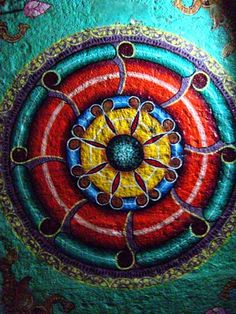 Meenakshi Temple Ceiling Paintings, India (photo courtesy of Climax Golden Twins)