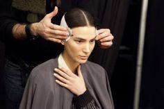 Backstage Beauty: New York Fashion Week Fall 2014 - Prabal Gurung Fall 2014 Beauty