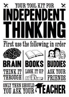 Independent Thinking Toolkit