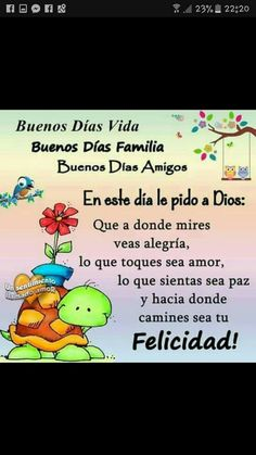 Good Morning, Qoutes, Spanish, Thoughts, Fictional Characters, Frases, Good Morning Friends, Good Morning Greetings, Friday