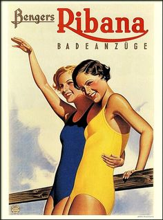 Benger Ribana, swimsuits (1934) by Susanlenox on Flickr.