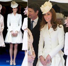 Kate Middleton. #Cóctel #Invitadas. Alexander McQueen