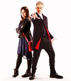 The Twelfth Doctor & Clara Oswin Oswald