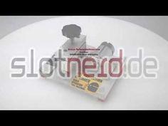 Slotcar Reifenschleifmaschine - Tire Razor - YouTube
