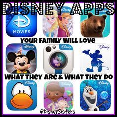 9 Must-Have Disney Apps For ALL Ages! Exploring the Magic of Mobile. via @Disney Sisters #DisneyApps