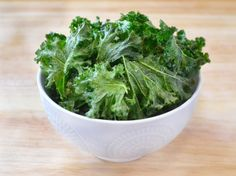 How to Make Baked Kale Chips - Main