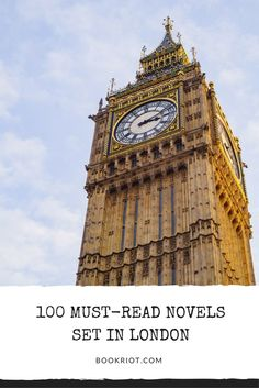 100 must-read novels set in London