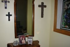 New Devoted Scentsy warmer added to my Cross corner!  You can buy this warmer on my website  www.scentsbyterri.com  $35