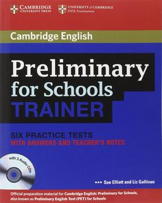 Ebook english unlimited a2 elementary pdf teachers book pack cambridge english preliminary for schools trainer six practice tests with answers fandeluxe Gallery